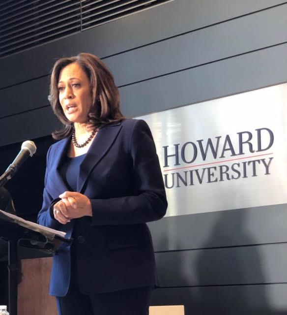 Kamala Harris Discusses Presidential Run At Howard University Winter Storm Hits East Whur 96 3 Fm