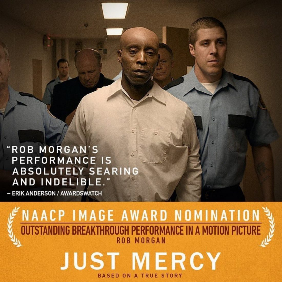 Exclusive Interview With Rob Morgan Of Just Mercy Whur 96 3 Fm